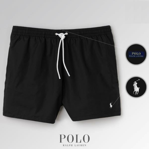 Шорты Polo Ralph Lauren Swimming Trunks черные