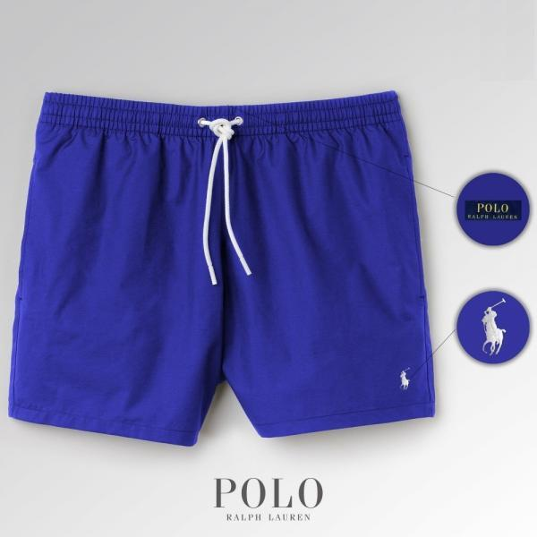 Шорты Polo Ralph Lauren Swimming Trunks синие