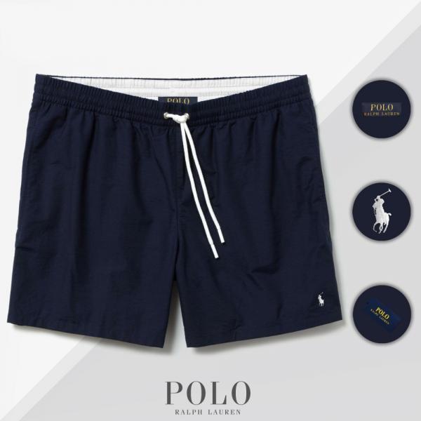 Шорты Polo Ralph Lauren Swimming Trunks темно-синие