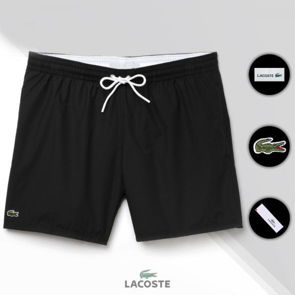 Шорты Lacoste Swimming Trunks черные