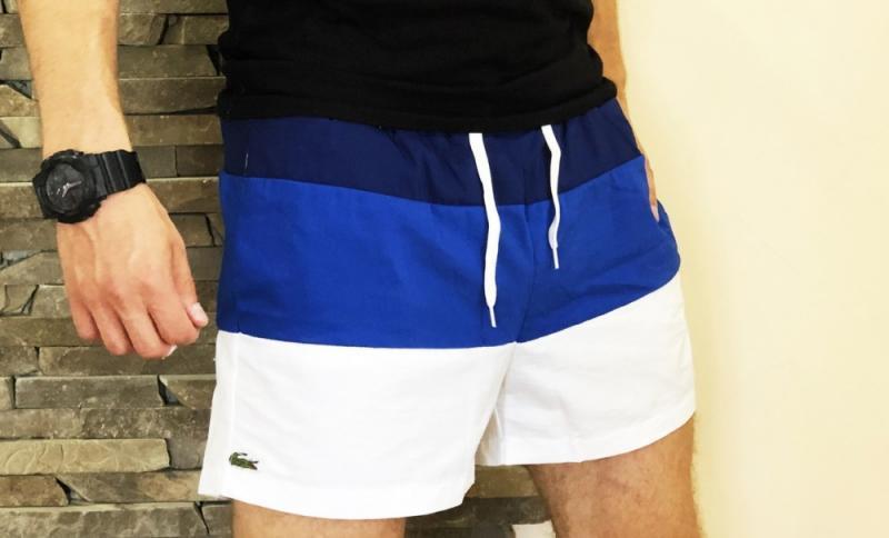 Шорты Lacoste swimming blue