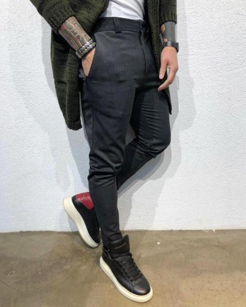 Штаны Black Island Classic Pants(Классические штаны, брюки) черного цвета