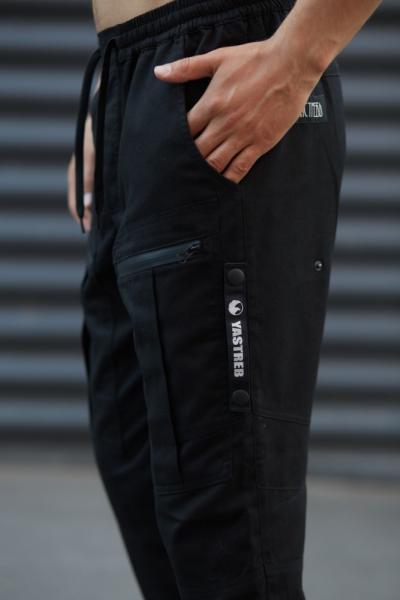Штаны Straight черные