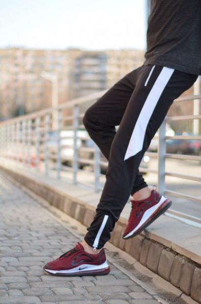 Спортивные штаны LC - Jet черно-белые