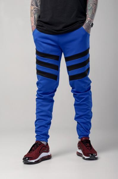 Спортивные штаны LC - Flip электрик с черным