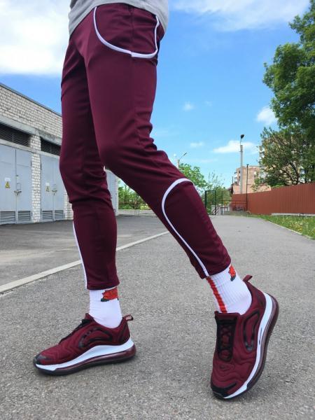 Спортивные штаны LC - Orion бордо