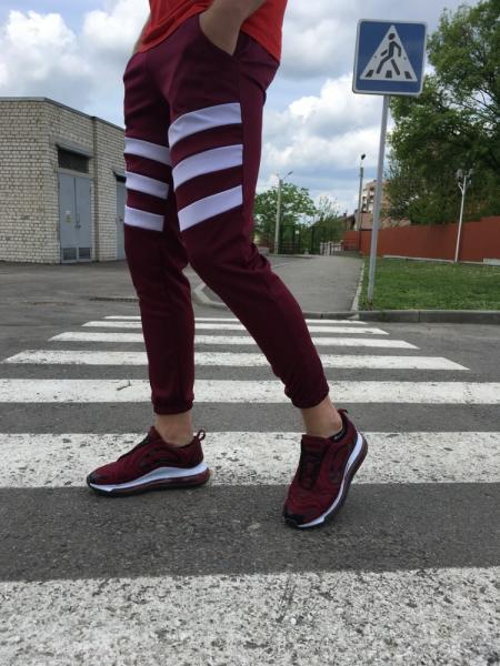 Спортивные штаны LC - Flip бордо