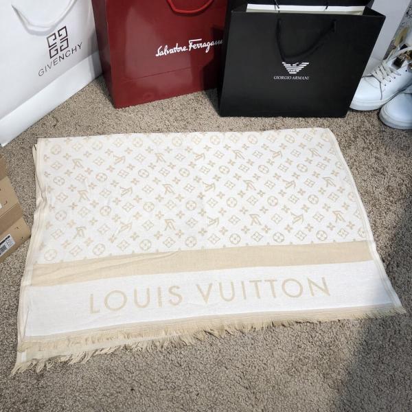 Scarves Louis Vuitton Monogram Milky