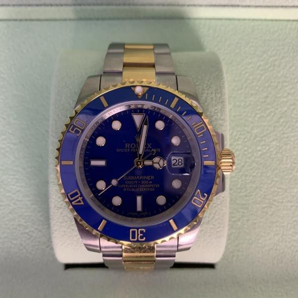 Rolex Submariner Date Oyster 40 Silver/Yellow Gold