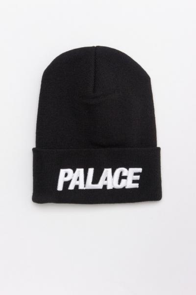 Зимняя шапка PALACE черная