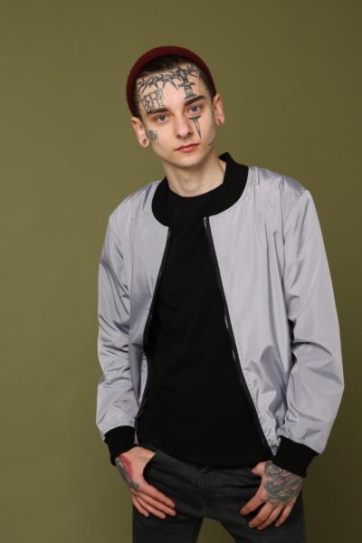 Бомбер серый с водоотталкивающими свойствами Quest Wear