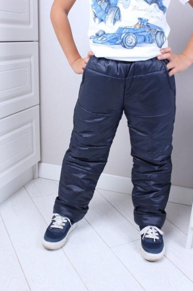 Штаны балоневые на синтепоне 98-128 см