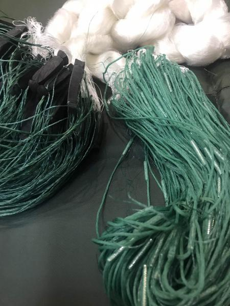 Сетка рыболовная (леска,одностенка,вшитый груз 100*3м,25 ячейка)Для прмышленного лова