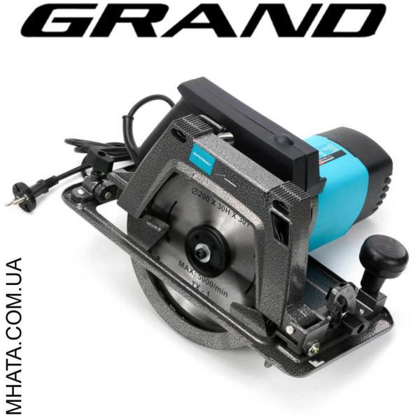 Пила дисковая (циркулярная) Grand ПД-210-2400 с функцией переворота