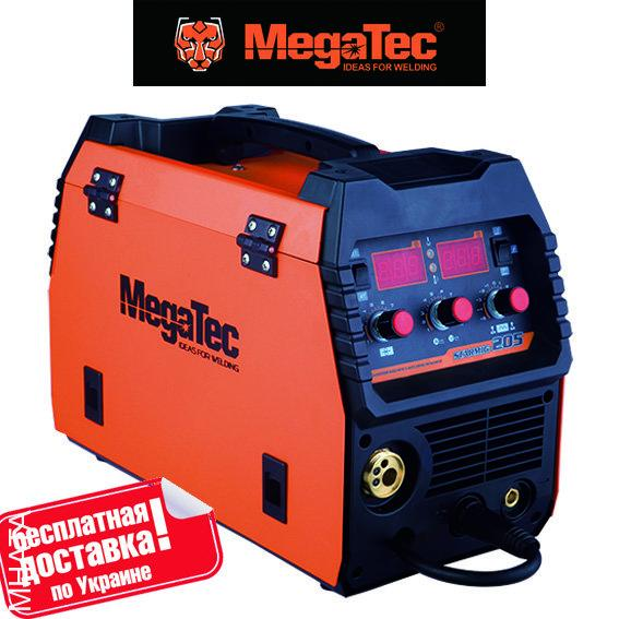 Сварочный полуавтомат MegaTec STARMIG 175 для ручной сварки МIG/MAG-MMA