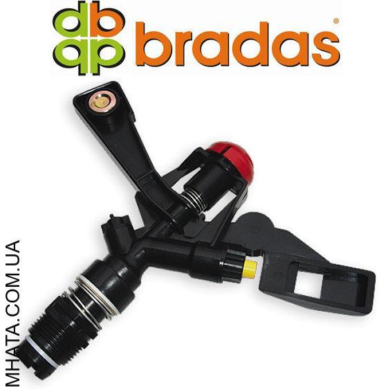 """Ороситель пульсирующий, с двумя форсунками, пластиковый, РН 3/4"""" Bradas AJ-TS6004 (ø20 метров)"""
