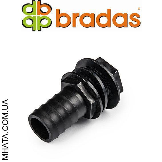Подключение к емкости, РН 3/4 - шланг 25 мм, BLACK LINE, ECO-4125