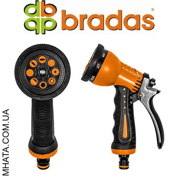 Пистолет для полива ZEBRA (латунь-цинк) BRADAS ECO-7203, 7 режимов