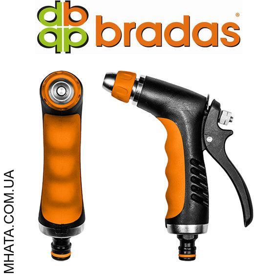 Пистолет для полива HOBBY металлический BRADAS ECO-2046, регулируемый