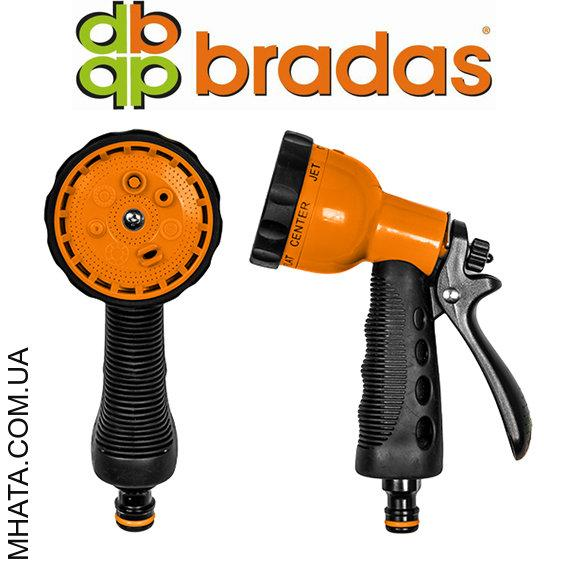 Пистолет для полива BRADAS ECO-4480, 6 режимов