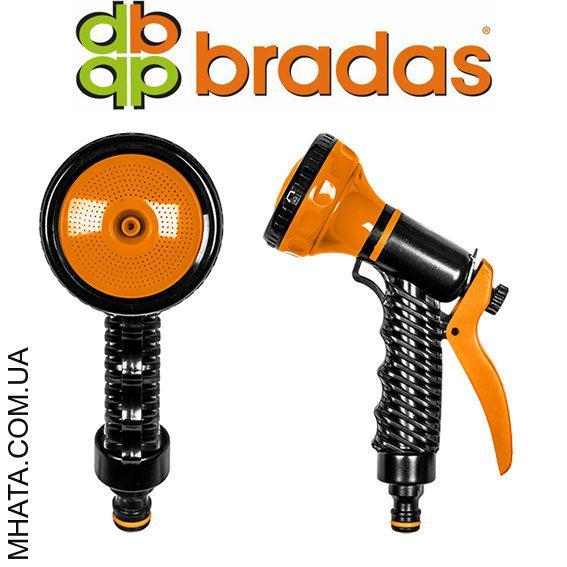 Пистолет для полива многофункциональный  многорежимный пластиковый BRADAS ECO-4441