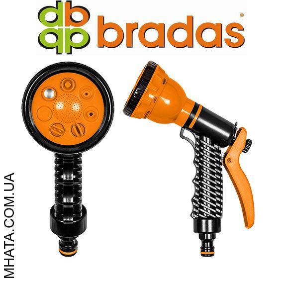 Пистолет для полива пластиковый BRADAS ECO-4440, 7 режимов