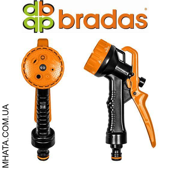 Пистолет для полива пластиковый BRADAS ECO-2108, 6 режимов