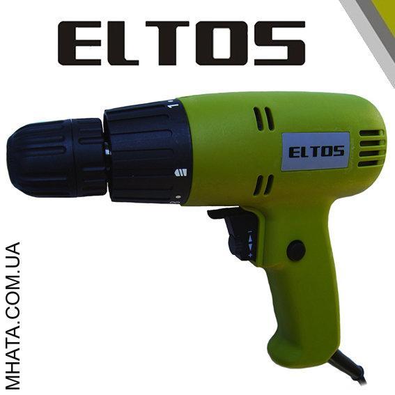 Дрель-шуруповерт сетевой Eltos ДЭ-780