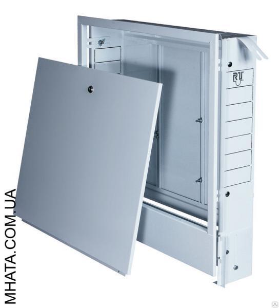 Шкаф коллекторный встроенный №2 (570х580х110) на 5-7 выходов