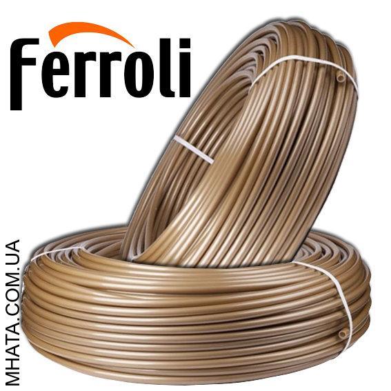 Труба для теплого пола с кислородным барьером Ferroli  d16х2 мм, Италия (Бесплатная доставка)