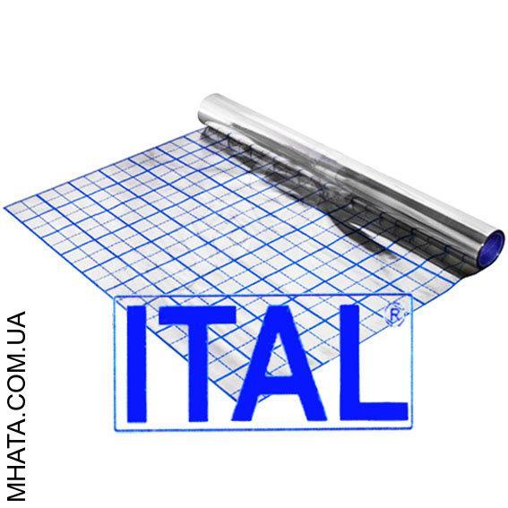 Пленка фольгированная для теплого пола с разметкой ITAL 50м
