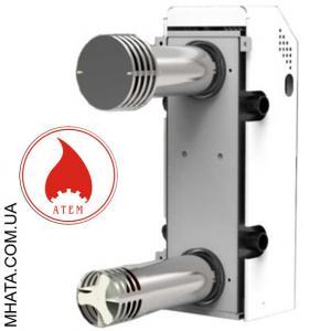 Фото Газовые котлы, Парапетные котлы Газовый парапетный котел Житомир-М АДГВ-18 Н (Двухконтурный, две трубы - раздельный дымоход)