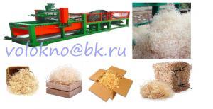 Фото оборудование для переработки  Оборудование древесная стружка упаковочная декоративная