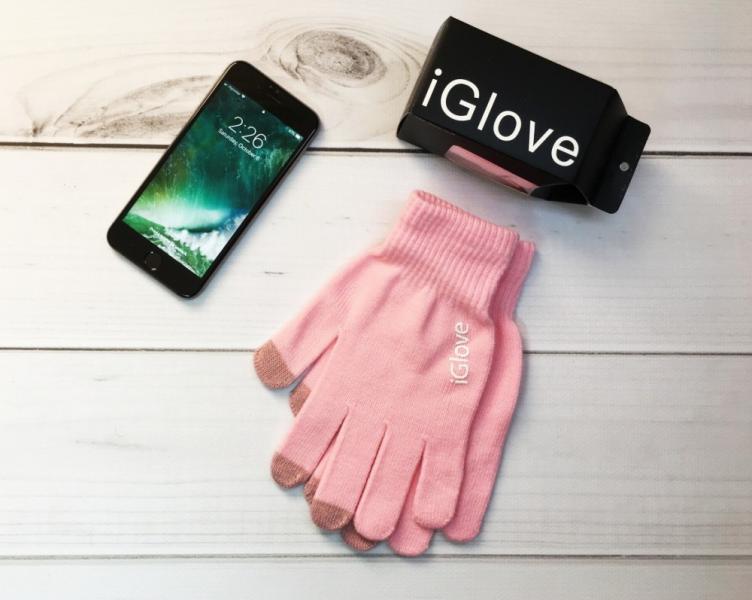 Перчатки iGlove pink