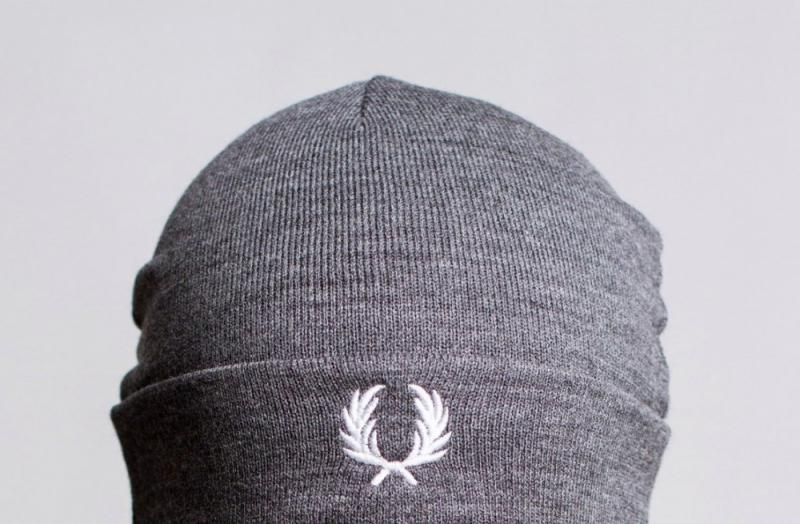 Шапка Fred Perry Grey
