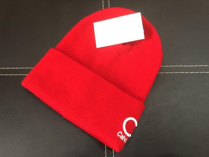 Шапка Calvin Klein shovel red