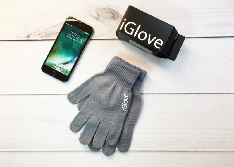 Перчатки iGlove gray