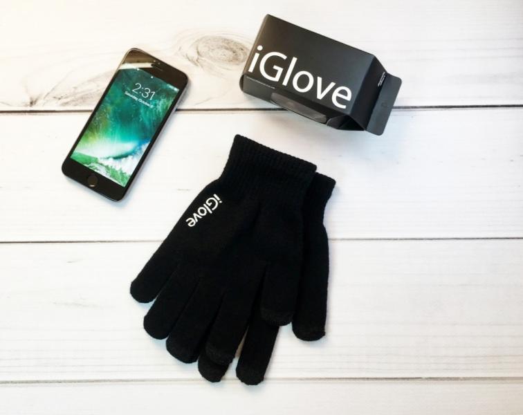 Перчатки iGlove black