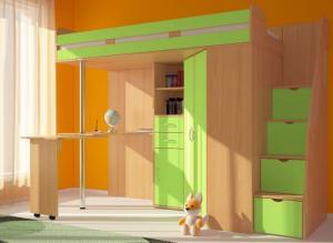 Фото детские  Кровать-чердак