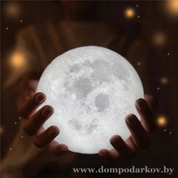 Фото ПОСМОТРЕТЬ ВЕСЬ КАТАЛОГ, Хиты продаж / Топ, Товары для дома Хит Настольный светильник-ночник Луна с пультом
