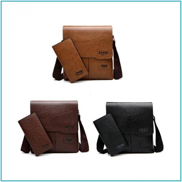 Мужская сумка JEEP + кошелёк