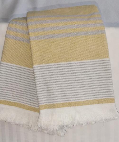 Набор полотенец 50*70 (2шт) Полоса желт.