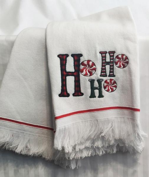 Набор полотенец 50*70 (2шт) Ho-Ho-Ho