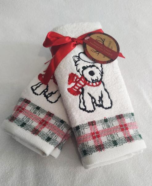 Набор полотенец 30*45 (2шт) Собака