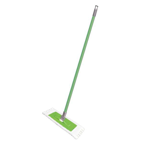 """Швабра плоская """"York Евро"""", 120 см длина, цвет зеленый"""
