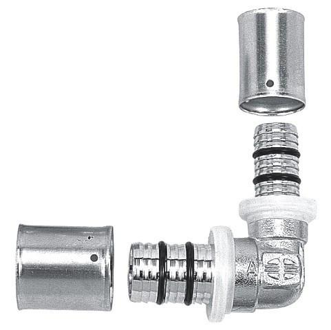 Фото  Распродажа остатков пресс-фитингов Rifeng  для металлопластиковых труб