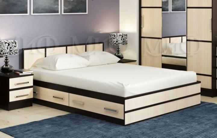 Фото Кровати Кровать Сакура 1,6м (МИФ)