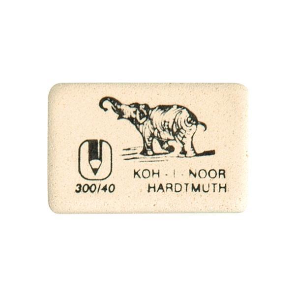 Ластик KOH-I-NOOR ELEPHANT 300/40 каучук 35х28х7 мм