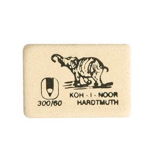 Фото Канцелярские товары (ЦЕНЫ БЕЗ НДС), Ластики Ластик KOH-I-NOOR ELEPHANT 300/60 каучук 30х20х7 мм