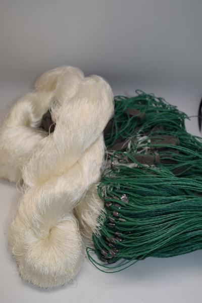Фото Сети (ДЛЯ ПРОМЫШЛЕННОГО ЛОВА), Сети рыболовные одностенные (для промышленного лова), Груз дробинка Сеть рыболовная  (НИТКА, одностенная, ДРОБИНКА ) 1.8х100 ячейка 65